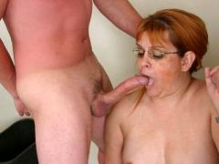 Wang Starved Mature Plumper Fritz