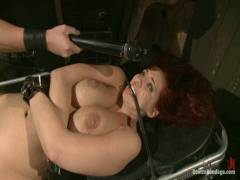 Device Bondage: Kelly Divine: Stretched, Hammered, Flogged, And Squirting Everywhere, Rosebud Exposed