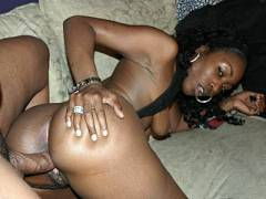 Hard To humped Black Beauty