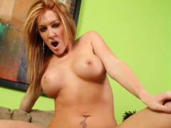 Hot MILF Morgan Rides Cowgirl