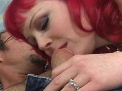 MILF Sucking a Big Cock