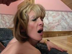 MILF Enjoys Rough Sex