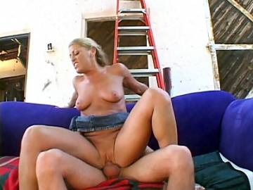 Stacked MILF Rides on Top