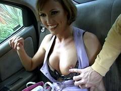 Naughty MILF Showing off Her Boobs
