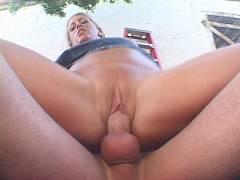 Big Tits MILF Cock Rammed