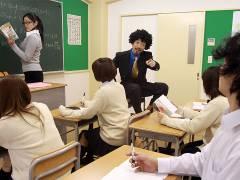 Eri Hoshikawa tricked into pokeing
