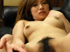 Hot slut Misaki Aiba pays with her cunt