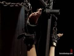 Device Bondage: Bountiful Orgasms With Brutal Bondage