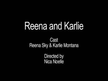 Girls Tribbing Girls: Karlie And Reena